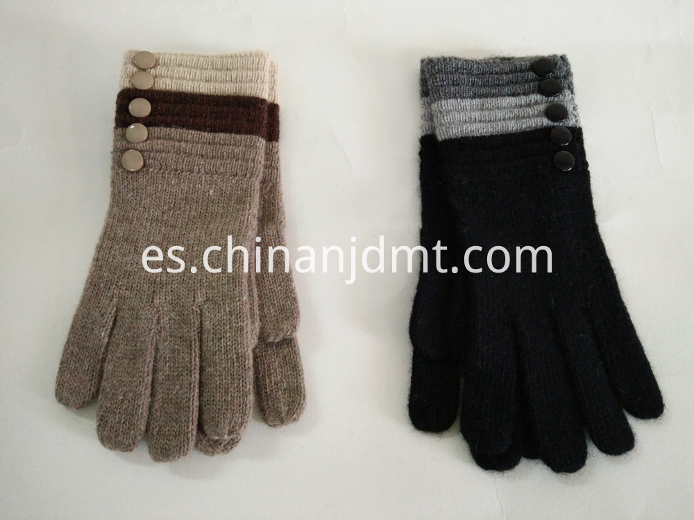 Ladies Fashion Wool Knitted Gloves