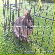 Cuna plegable portable de interior del conejo para la venta