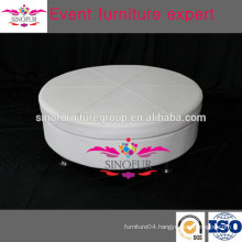 Classical model round ottoman