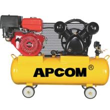 APCOM Aircompressors GA6008 GA5012 6hp 8-12.5bar 22 CFM 100 liter air tank petrol portable gasoline air compressor