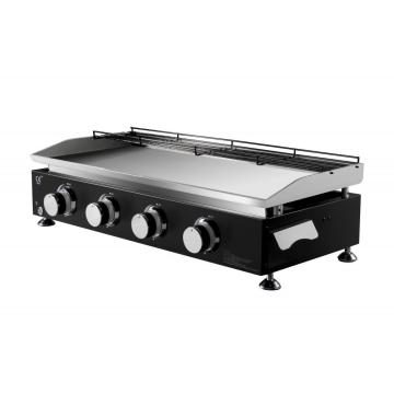 4 Burner Portable Table Top Gas Grill Griddle