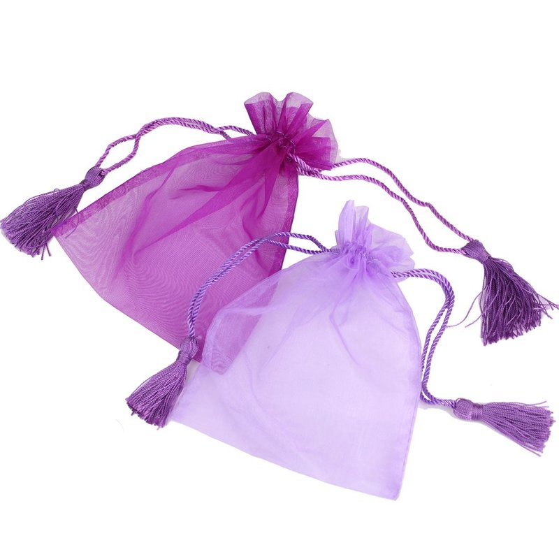 Organza Bag with organza fabric