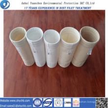 A fábrica fornece diretamente o saco de filtro da poeira de Nomex para a indústria da metalurgia com amostra grátis