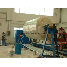 Machine de bobinage horizontale de réservoir de FRP ou de GRP