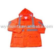 Safety raincoat