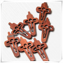 Factory Discount Wholesale Religious Pray Engraving Cross (IO-cw028)