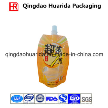 Customized Packaging Bag, Stand up Pouch with Spout for Beverage