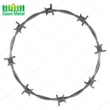 pe coated barbed wire