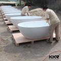 salle de bains moderne 1.5m baignoire, pierre surface solide en résine