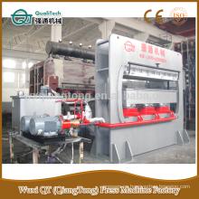 Moldes de madera máquina de prensa / máquina de moldeo decorativos / mdf rodapié