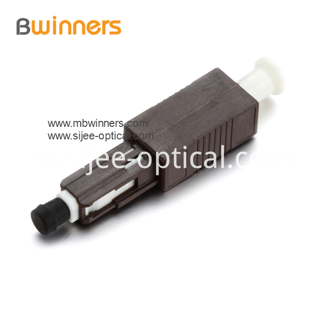 Mu Fiber Optic Attenuators