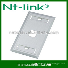 us type rj45 Single port faceplate