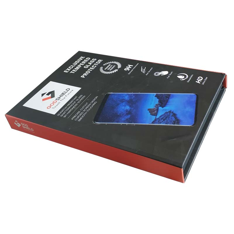 High End Tempered Glass Protector Gift Box