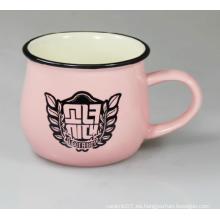 Tazas de cerámica de encargo impresas promocionales de las tazas