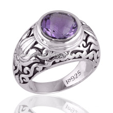 Buy the Best Vintage Purple Amethyst 925 Silver Statement Ring for All Occasion Gift