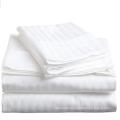 1cm Cotton Damask Stripe Duvet  Cover