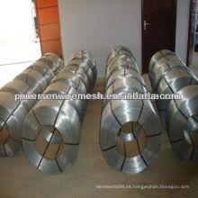 Alambre de hierro galvanizado en caliente