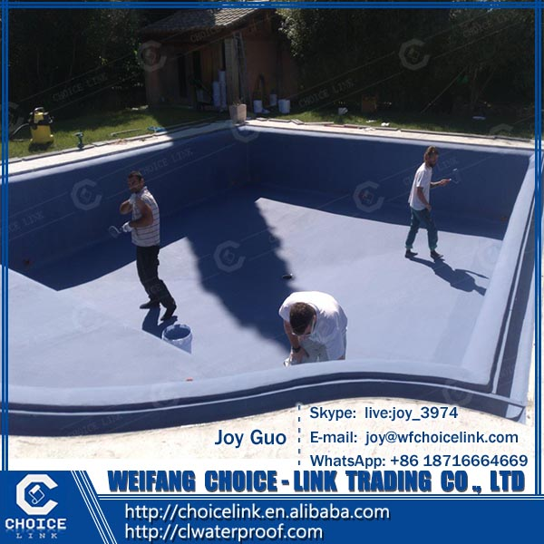 oil-based two component polyurethane waterproofing coating