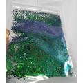 Chameleon Glitter Flake Nail Art Cambio de color Color Shift Glitter Powder
