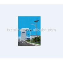 luz de calle solar con el conductor del polo 2 años de garantía led luz de calle solar