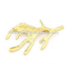 2015 hot selling fashion popular cheap gold plating alloy sea animal hairpin