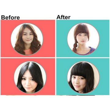 Hot Selling Human Hair,Straight Clip In Hair Extensions Fringe