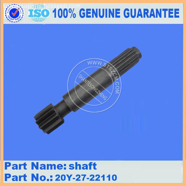 Pc220 6 Shaft 20y 27 22110