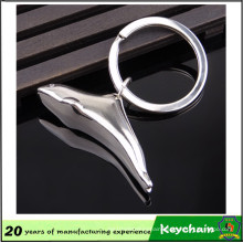 Promotional Low Price Silver Fish Keychain