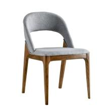 Chaise en bois nordique pour Cafe Restaurant