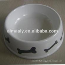 Tigela de cão de cerâmica por atacado