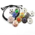 Bunte Mode veränderbare Snap Button für Armband und Armreif