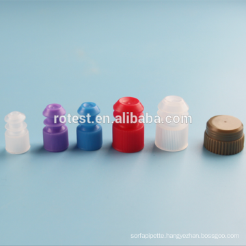 Plastic Test Tube Sealing Stoppers 15mm