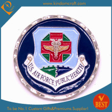 Custom EUA 3D militar desafio moedas com corte de diamante (LN-0171)
