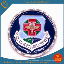 Пользовательские поставки цинковый сплав сувенирной металлической военной монеты (KD-002)