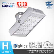160W LED Tunnel Light with CE/RoHS/CB/GS/SAA Certifications