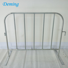Pabrik Galvanized Logam Crowd Control Barrier Fence
