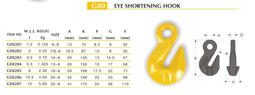 EYE SHORTING HOOK