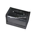 Werbe beliebte schwarze pvc Kosmetiktasche mit hohem Niveau material