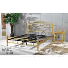 Золотая живопись Металлическая кровать (606 #)