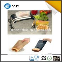 Бесплатный образец Многоразовые мешки с тостером из тефлона PTFE сэндвич с низкой ценой