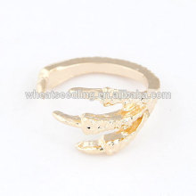 Fashionable ancient opening ring eagle sharp claw ring