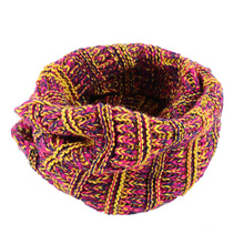 Womens Unisex Hood Wrap Multiple Style Neck Warmer Thick Winter Knitted Scarf Loop Snood (SK137)