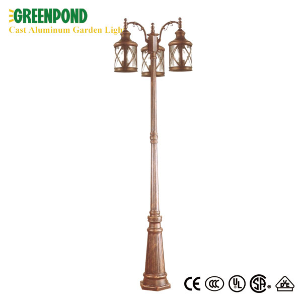 Multi-headed Novelty 240V Cast Aluminum Garden Light