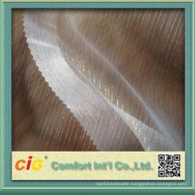 Fashion Gold/Silver Line Curtain Fabrics