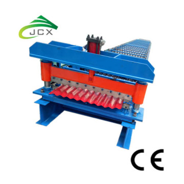 Lembaran logam Corrugated Zinc Roof Steel Making Machine