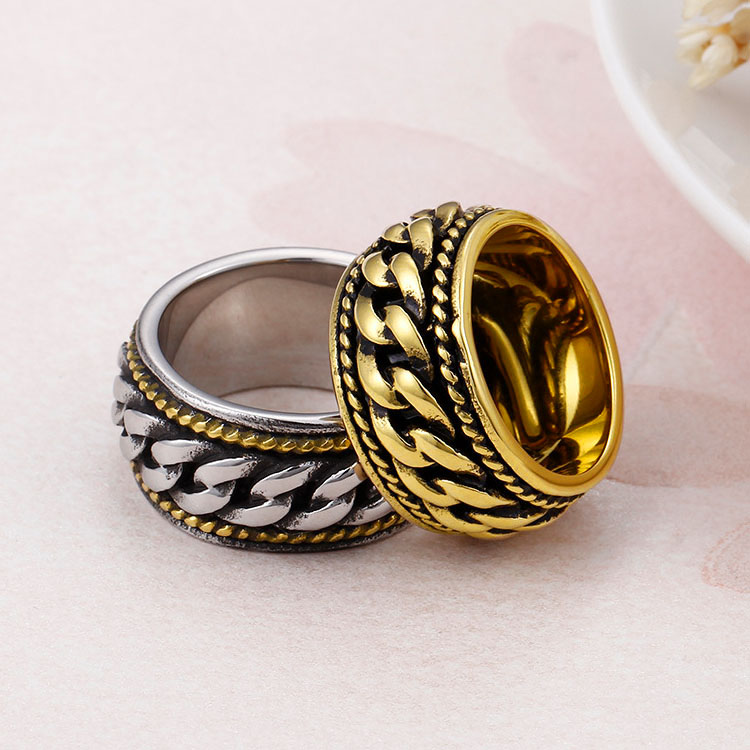 Chain Ring Jewelry