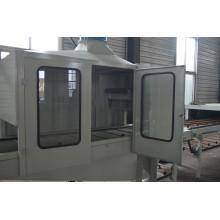 Farbiges Sand-Beschichtungs-Metalldach, das Maschine bildet
