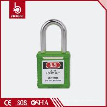 CE Certified Cerraduras de seguridad de acero LOTO del candado de la seguridad del OEM de 38m m con la llave iguales o la llave diferencian (BD-G01)