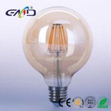 Led Filament G95 Global bulb 8w E27 Amber