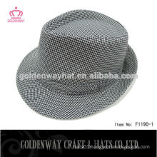 Hot Selling Men Fedora Hat With Ribbon